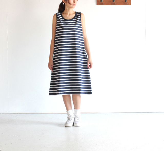 Le minor BY DAILY WARDROBE INDUSTRY デイリーワードローブインダストリー   Le minor  ノースリーブワンピース