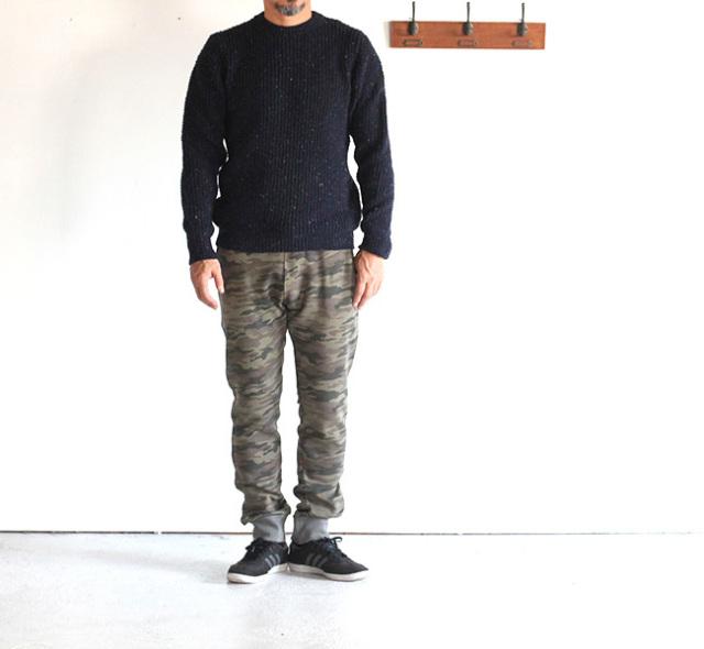 再:SWEET PANTS  CAMO SLIM PANTS カモスリムスウェットパンツ
