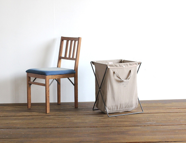 BasShu Laundry bag frame set ランドリーバッグ フレームセット 3色