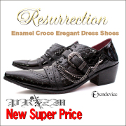 EnamelCrocoEregant Dress Shoes(���ʥ�륯�?���쥬��ȥɥ쥹���塼����