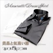 ワイドカラーシャツ/Maseratti Dress Shirt