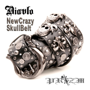 Diavlo New Crazy Skull  Belt
