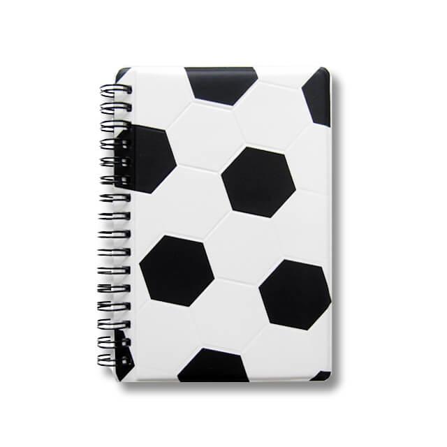 サッカーボール柄作戦ノート