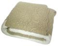 マリネットMARINETTE  ブティBOUTIS キルトマルチカバー160×160cmサイズ(LUBERON・アイボリー×ナチュラル)CVR_BT_LIT10