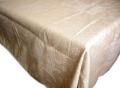 プロヴァンステーブルクロスジャガード織り(ジャガード織りひまわり、抽象柄・ナチュラル)140×200cmサイズ【フランス】 NAP_20_134::他サイズお取り寄せ可能
