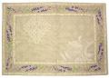 ジャガード織りティーマットデラックス(ラベンダー2007・ナチュラル)【フランス】SET_JQ03