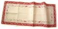 Reveillon レヴェイヨン モンターニュジャガード織テーブルランナー40×100cmサイズ ノルディック柄 CHM_32  【フランス】