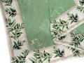 ジャガード織りプリント柄フレームマルチカバー、フレームクロス正方形、長方形全6サイズ(オリーブ・グリーン)CVR_04
