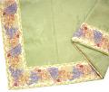 ジャガード織りプリント柄フレームマルチカバー、フレームクロス正方形、長方形全6サイズ【フランス】(ローズ&ラベンダー・オフホワイト) CVR_20::【オーダーメイドも】
