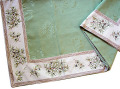 ジャガード織りプリント柄フレームマルチカバー、フレームクロス正方形、長方形全6サイズ(オリーブ2005・グリーン)CVR_11【オーダーメイドも】