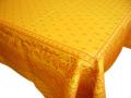 プロヴァンステーブルクロスジャガード織りテフロン撥水加工 Marat d'Avignon マラダヴィニョン(デュランス・イエロー)全5サイズ【フランス】 NAP_25_282e