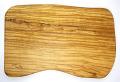 オリーブの木のまな板、オリーブウッドカッティングボード 長方形中サイズ PLC_34
