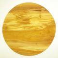 ピザ用オリーブの木のまな板円形、丸、ラウンドオリーブウッドカッティングボード Dモデル 直径30cm 【無垢一枚板イタリア製】 PLC_D73