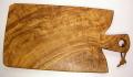 オリーブの木のまな板、オリーブウッドカッティングボード Fモデル PLC_F09