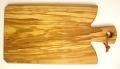 オリーブの木のまな板、オリーブウッドカッティングボード Fモデル PLC_F15