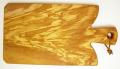 オリーブの木のまな板、オリーブウッドカッティングボード Fモデル PLC_F17