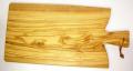 オリーブの木のまな板、オリーブウッドカッティングボード Fモデル特大サイズ PLC_FG08