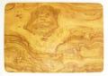 オリーブの木のまな板、オリーブウッドカッティングボード長方形大サイズ PLC_G3_101