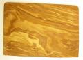 オリーブの木のまな板、オリーブウッドカッティングボード長方形大サイズ PLC_G3_127