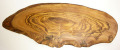 オリーブの木のまな板、オリーブウッドカッティングボード RUSTIQUE変形 PLC_RSTQG17