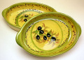グラタン皿オーバル(オリーブB)GRT_01
