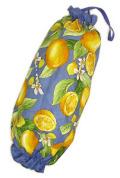 プロヴァンス柄ビニール袋・レジ袋ストッカー(レモン・ブルー)SAC_S52