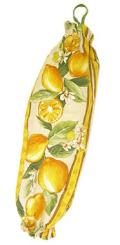 プロヴァンス柄ビニール袋・レジ袋ストッカー(レモン・サーブルベージュ) SAC_S56