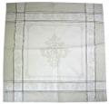 ジャカード織りテーブルナプキン(モンミライユ・ナチュラル)SER_P34【フランス】