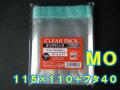【100枚】透明OPP袋 フタ付(テープ付き) MO用 (115×110+フタ40mm) TP11.5-11 クリアパック