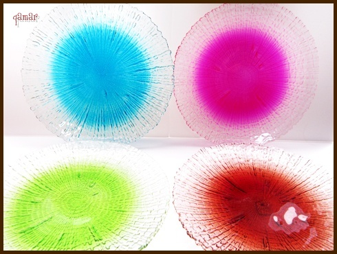 丸型デザイン皿