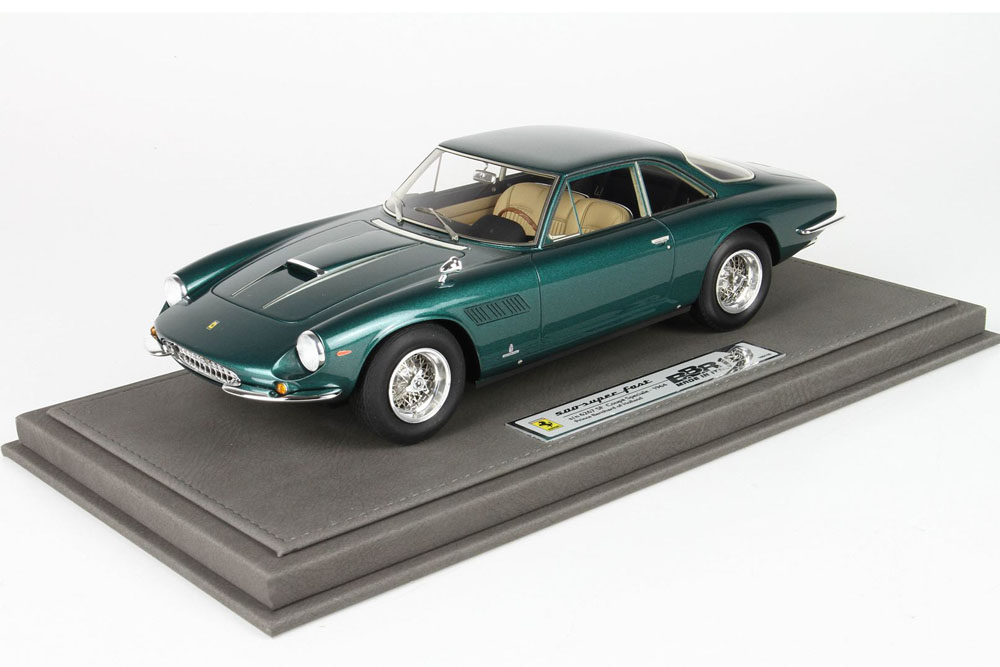 BBR1840V 1/18 フェラーリ 500 Superfast Speciale S/N 6267 Prince Bernhard of Holland 1964 159台限定 (ケース付)
