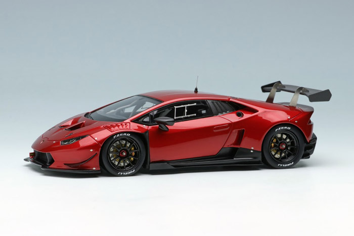 ** 予約商品 ** EIDOLON EM324D Lamborghini Huracan LP620-2 Super Trofeo 2014 Candy Red Limited 50pcs
