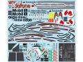 F'artefice デカール FE-0095 1/8 MP4-23 リペイントデカール Type3 (for De)【メール便可】