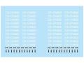 F'artefice デカール FE-0105 1/64 F1タイヤ用オプションデカール(10台分)【メール便可】