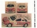 STARTER FOR003 フォード ESCORT BASTOS HYPRES 1994 winner