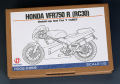 Hobby Design HD02_0359 1/12 ホンダ VFR750R (RC30) ディテールアップセット for Tamiya