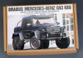 Hobby Design HD03_0471 1/18 BRABUS MERSEDES-BENZ G63 6x6 トランスキット for Autoart