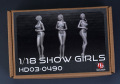 Hobby Design HD03_0490 1/18 Show Girls