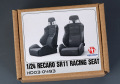 Hobby Design HD03_0493 1/24 Recaro SR11 レーシングシート