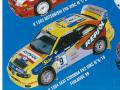 PROVENCE K1504 セアト CORDOBA EV2 WRC n.9/10  FINLAND 1999