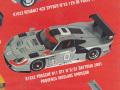 PROVENCE K1632 ポルシェ 911GT1 n.0/01 Daytona 2001