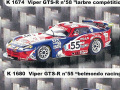 PROVENCE K1680 クライスラー Viper GTS-R Paul Belmondo Racing n.55 LM2001