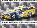 PROVENCE K1681 クライスラー Viper GTS-R Paul Belmondo Racing n.56 LM2001