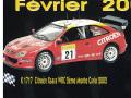 PROVENCE K1717 シトロエン Xsara WRC  MC 2002  2nd