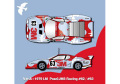 HIRO K531 1/12 フェラーリ 512BB LM ver.A 1979 LM Pozzi/JMS Racing #62 / #63
