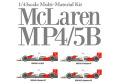 HIRO K547 1/43 マクラーレン MP4/5B 1990 ver.B Belgian GP / Japanese GP