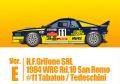 HIRO K561 1/43 ランチア 037 Rally ver.E : H.F.Grifone SRL 1984 WRC Rd.10 San Remo #11