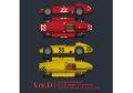 HIRO K583 1/12 フェラーリ D50 Ver.D 1956 Rd.8 Italian GP #22 J.M.Fangio / E.Castellotti  #28 1956 Belgian GP #20/#8