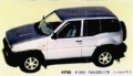 JPS KP068R フォード Maverick プリペイントキット (レッド)