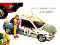 JPS KP112P ルノー CLIO 16/S M.C. OUDRY France Champion 95 プリペイントキット